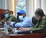 Salvador Valdés Mesa reconoció los avances de Guantánamo en el autoabastecimiento municipal . Foto: Rodny Alcolea.